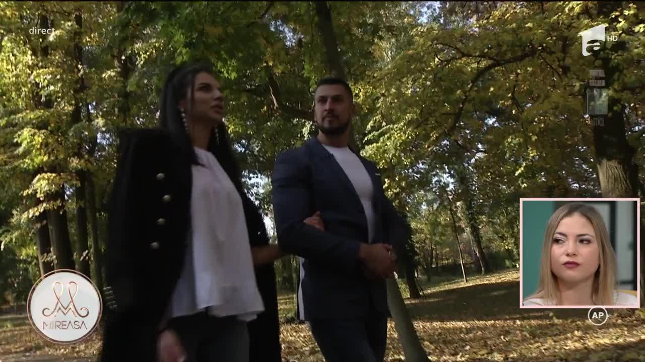 Mireasa Sezonul 4, 27 octombrie 2021. John și Amalia au avut prima lor întâlnire în natură