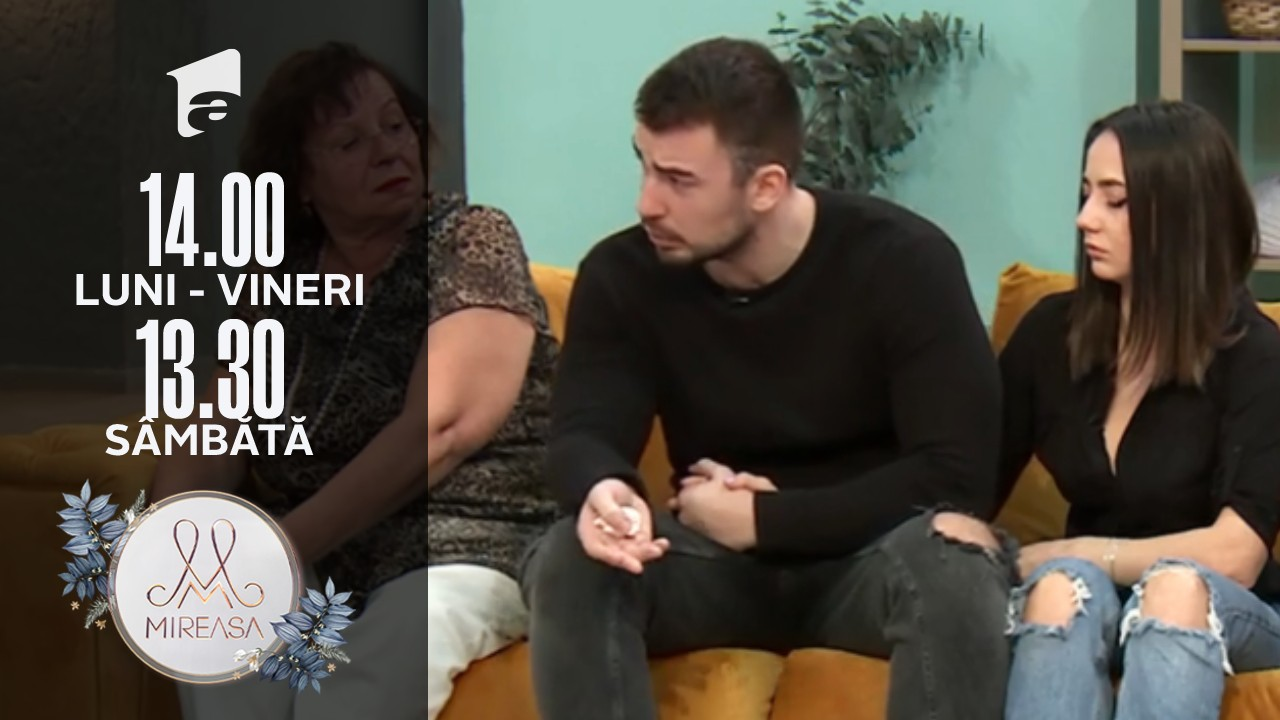 Mireasa Sezonul 4, 27 octombrie 2021. Victor vrea să facă un pas în spate în relația cu Andrada