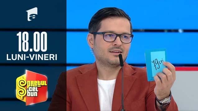 Preţul cel bun sezonul 1, 27 octombrie 2021. Andrei a venit încrezător în forțele sale la concurs