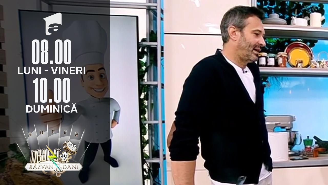 Super Neatza, 27 octombrie 2021. Rețeta lui chef Nicolai Tand - Cartofi cu pulpe de pui la cuptor