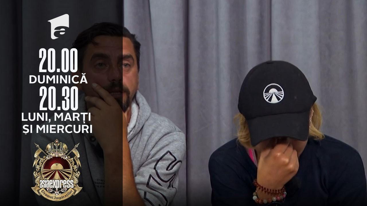 Asia Express sezonul 4, 27 octombrie 2021. Eliza Natanticu, în lacrimi. Ce lucru a îndurerat-o pe concurentă