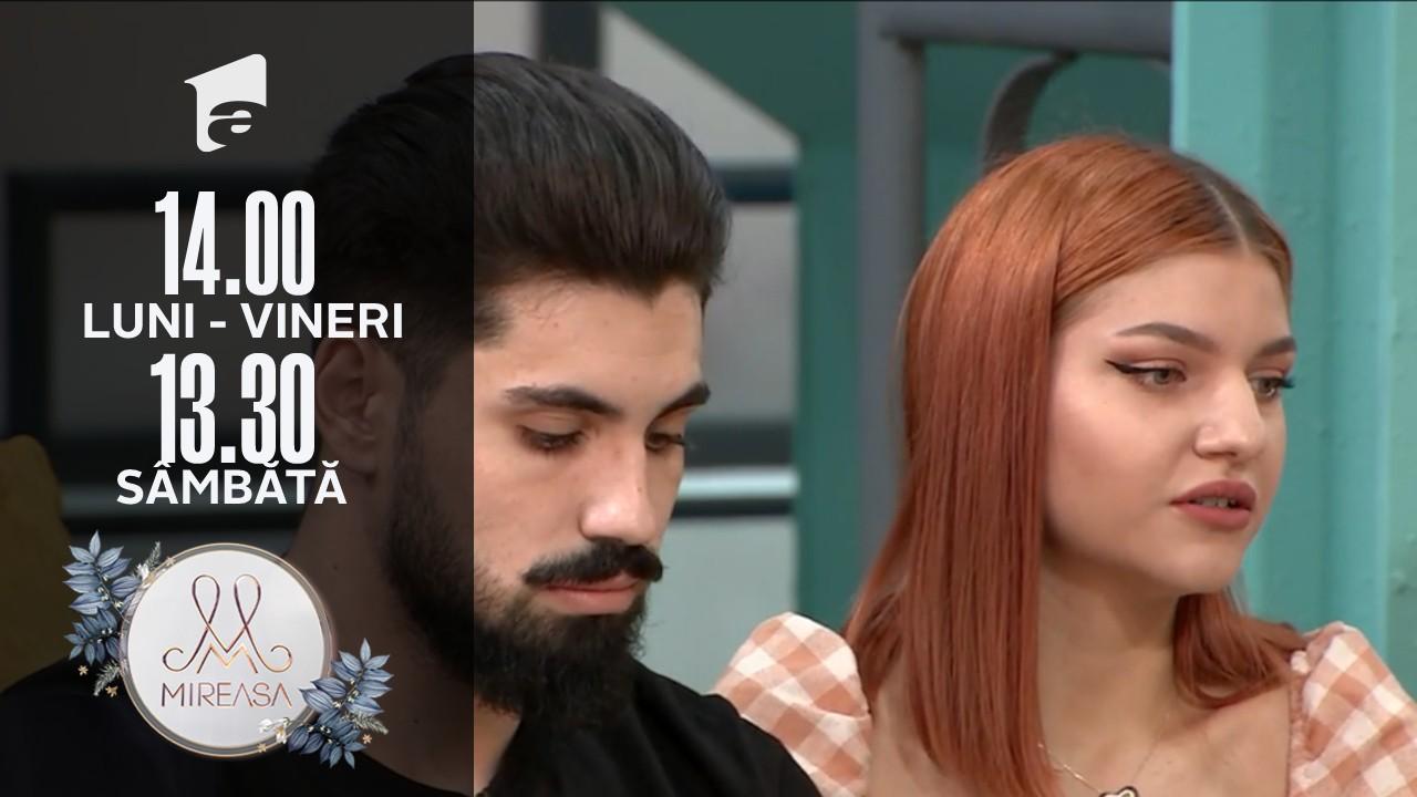 Mireasa Sezonul 4, 28 octombrie 2021. Alex încă se mai gândește la relația cu Adelina!