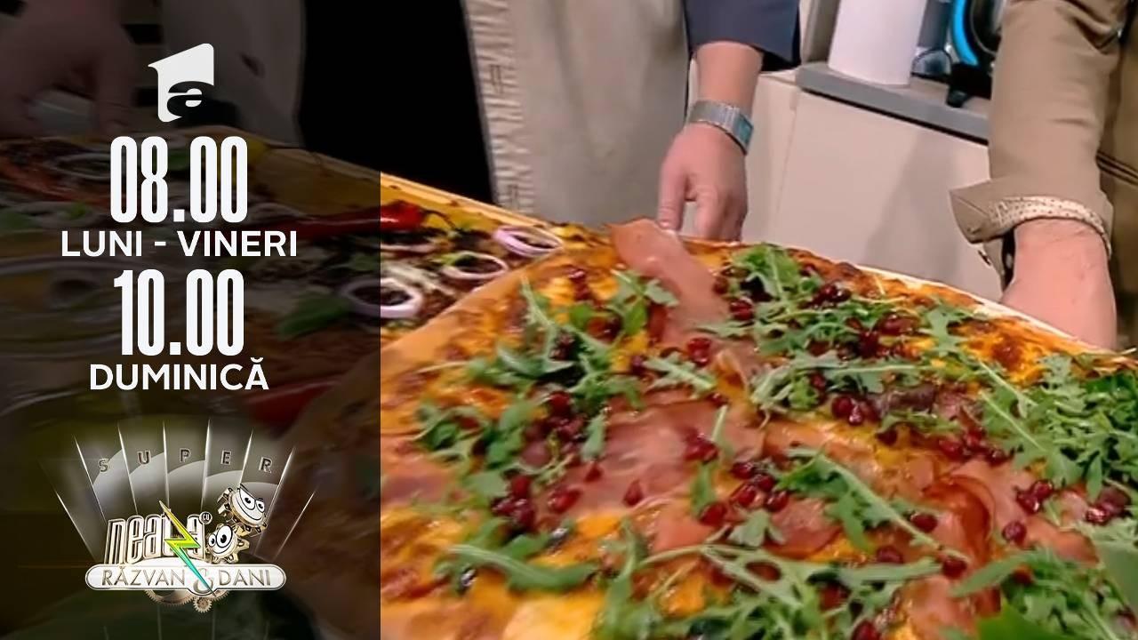 Super Neatza, 28 octombrie 2021. Rețeta lui Vlăduț - Pizza picantă și pizza cu carne tocată
