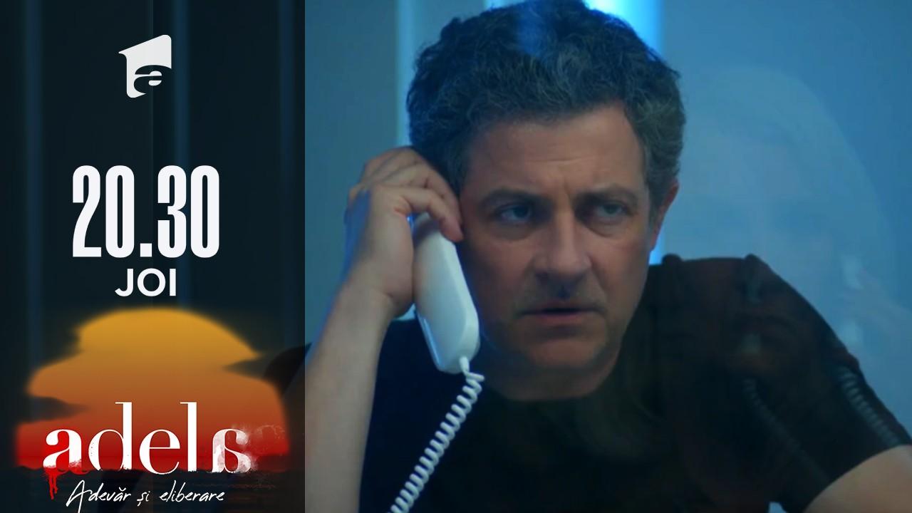 Adela sezonul 2, episodul 21, 28 octombrie 2021. Paul Andronic este suspect de crimă! Milionarul a ajuns în arest