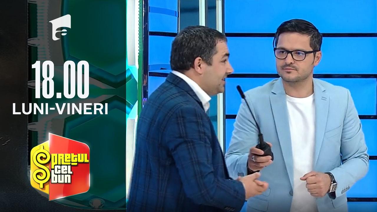 Preţul cel bun sezonul 1, 28 octombrie 2021. Liviu Vârciu, surprins când a aflat ce are în comun cu un concurent
