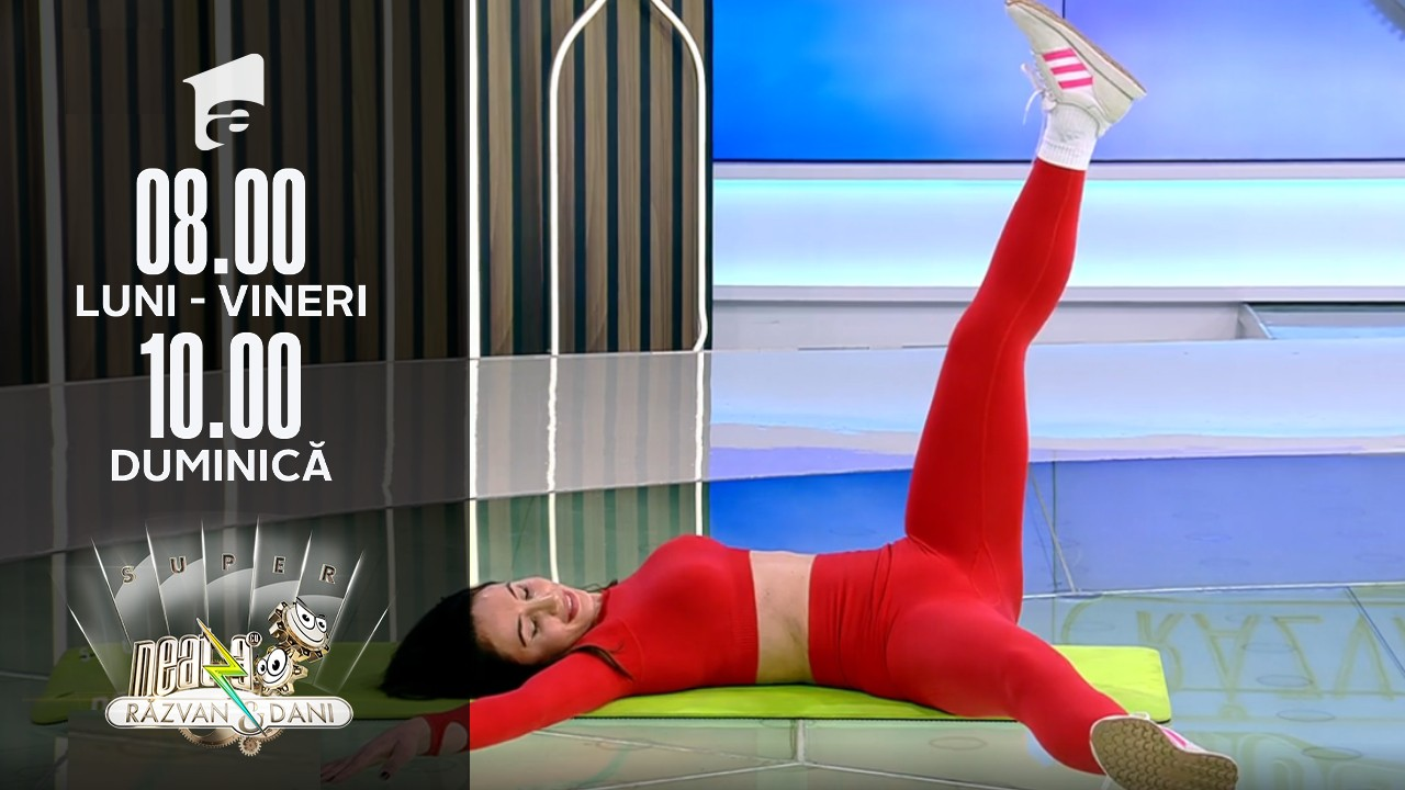 Super Neatza, 28 octombrie 2021. Fitness cu Diana Stejereanu
