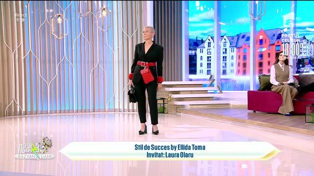 Super Neatza, 28 octombrie 2021. Designerul Laura Olaru a lansat colecția de genți și accesorii Node & Bow