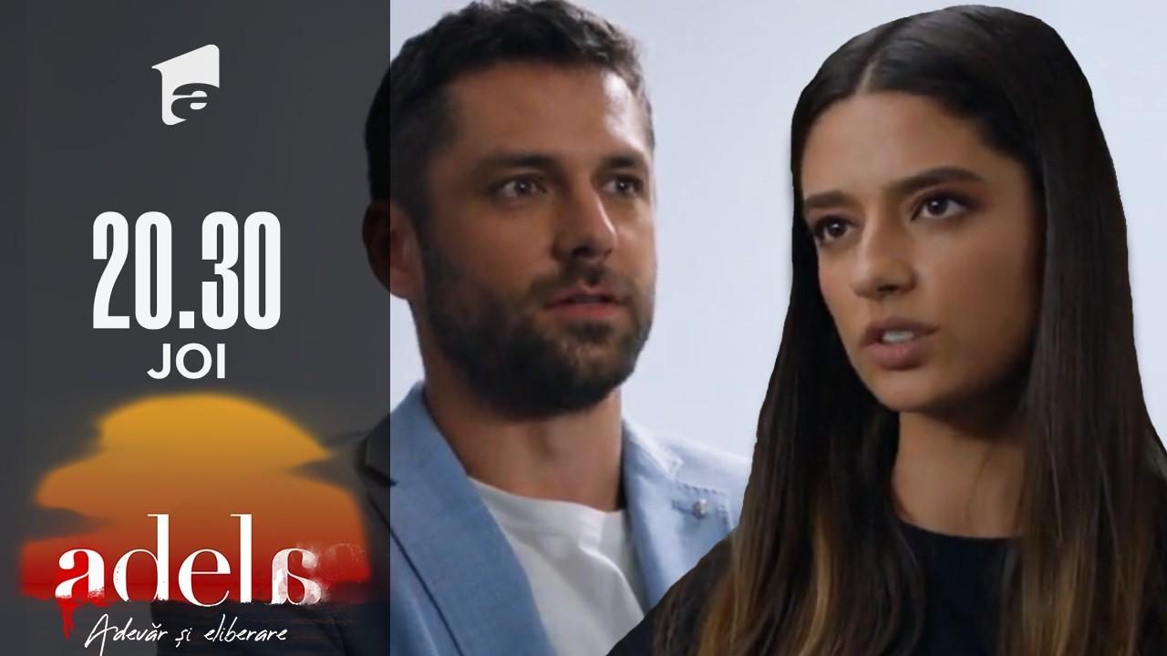 Adela sezonul 2, episodul 22, 28 octombrie 2021. Mihai o vede pe Andreea cum îi dă mită doctorului care ii-a falsificat testul ADN
