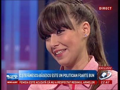 Cătălina Ştefănescu: Băsescu m-a dezamăgit foarte tare!