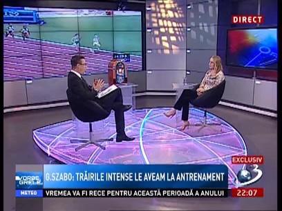 Gabriela Szabo:Un mare campion nu își arată trăirile! Asta face diferența între un campion și ceilalți