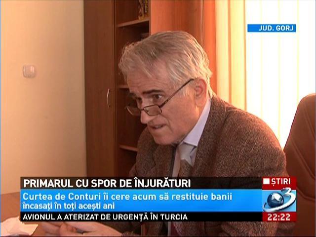 Un primar din Gorj a încasat bani din spor pe înjurături
