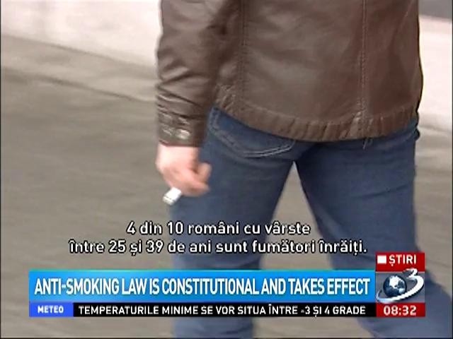Anti-smoking law is constitutional and takes effect