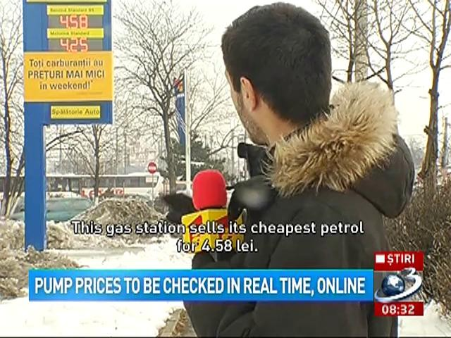 Pump prices to be checked in real time, online