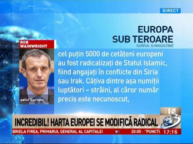 Şeful Europol, despre terorismul de azi