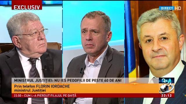 Ministrul Justiției, despre legea grațierii: Nu ies pedofilii de peste 60 de ani
