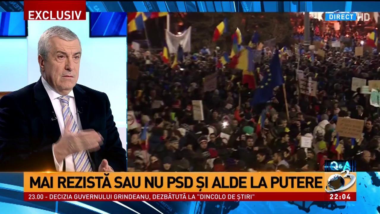 Calin Popescu Tariceanu, despre cum s-a luat decizia retragerii OUG