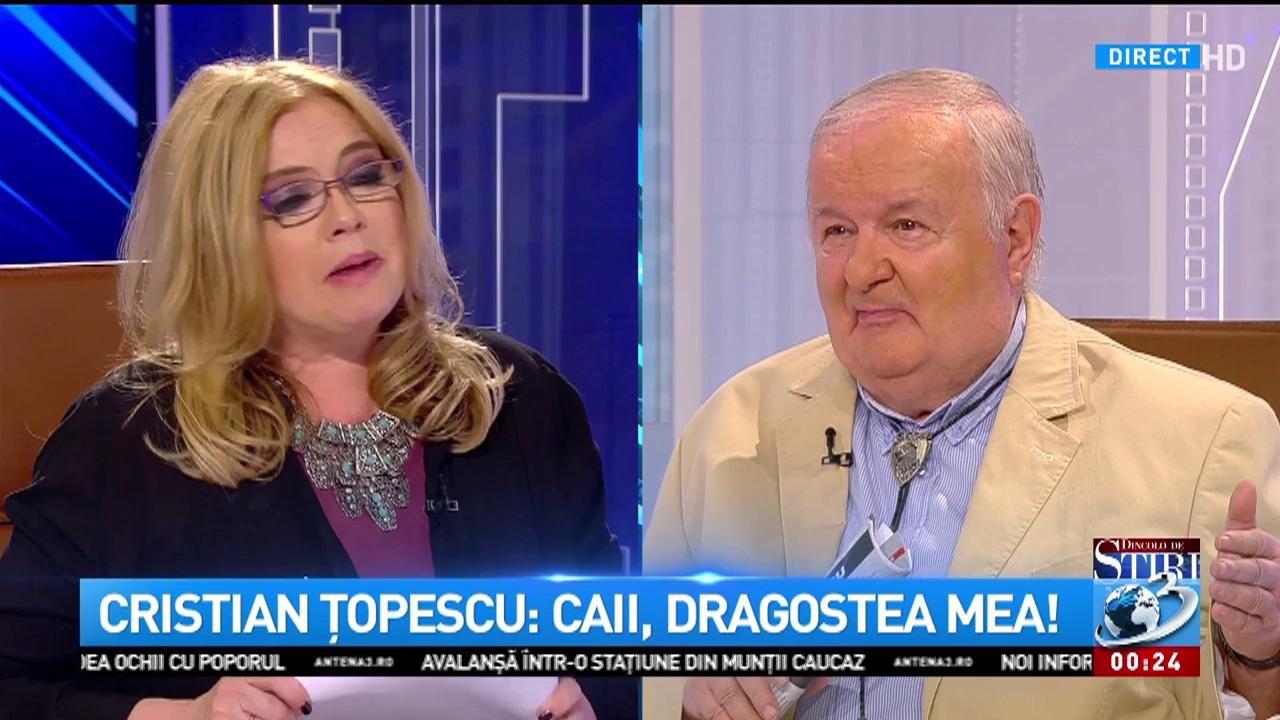 """Cristina Țopescu, primul interviu cu tatăl său: """"M-ai iertat?"""""""