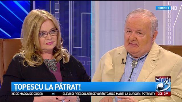Ce mărturisire i-a făcut Cristina Țopescu tatălui ei, la primul interviu pe care i l-a luat