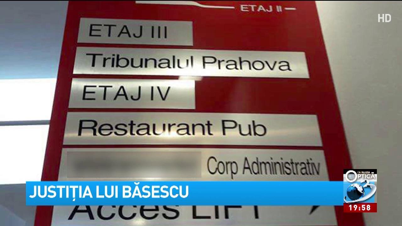 Justiţia lui Băsescu