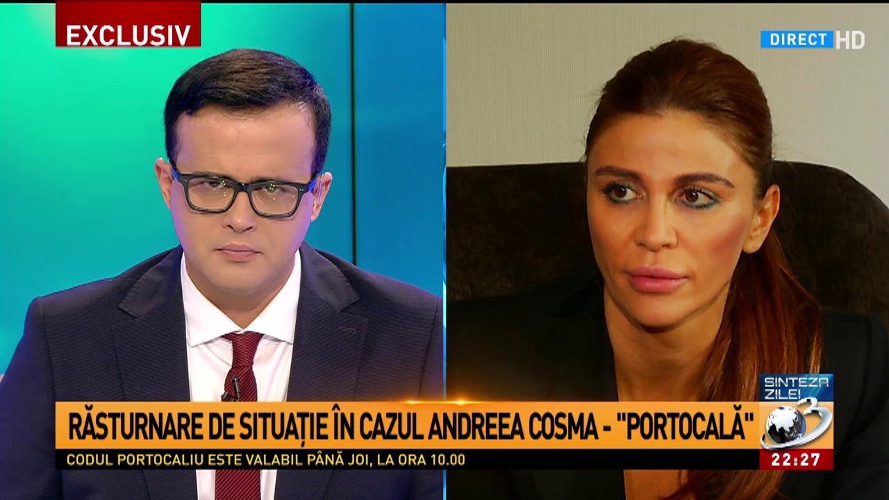 """Răsturnare de situație în cazul Andreea Cosma - """"Portocală"""". Ce decizie au luat judecătorii"""
