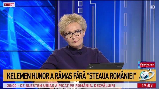 """Kelemen Hunor a rămas fără """"Steaua României"""""""
