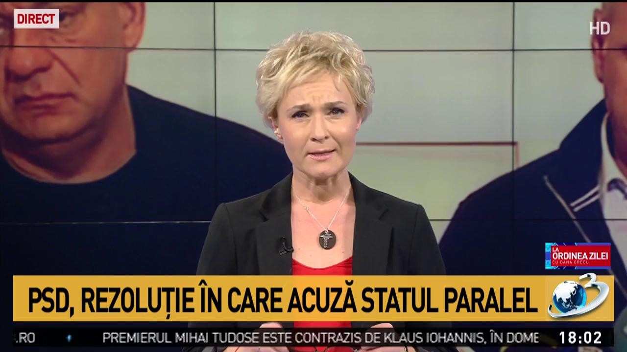"""Dana Grecu: Este ultima emisiune """"La ordinea zilei"""" în acest format"""