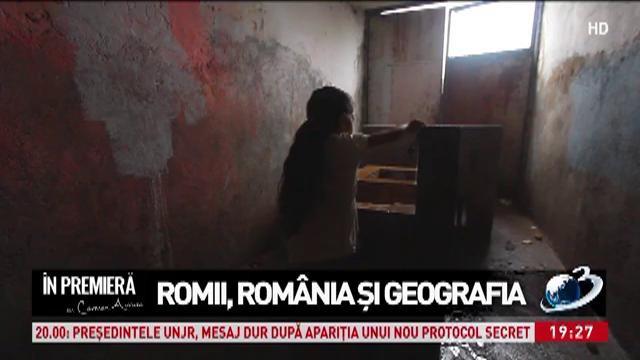 Romii, România şi geografia