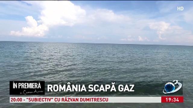 România scapă gaz
