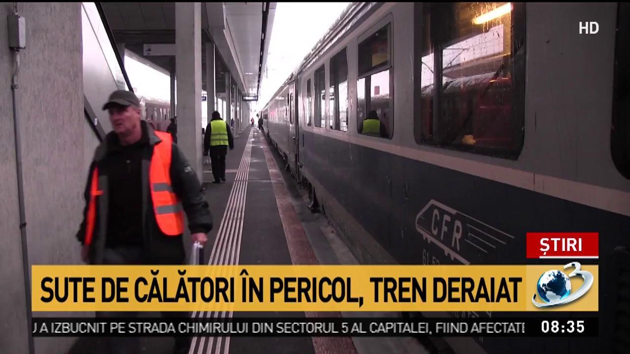 Alertă în județul Hunedoara, după ce un tren a deraiat de pe șine! A fost activat Planul Roșu de intervenție