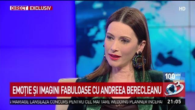 Andreea Berecleanu, cu ochii în lacrimi la Antena 3: Este o surpriză