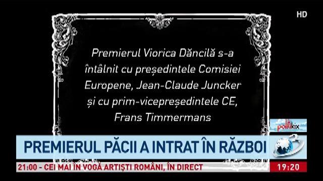 """Premiile Politikix 2018. Viorica Dăncilă câștigă trofeul """"Viorica, fii bărbată!"""""""