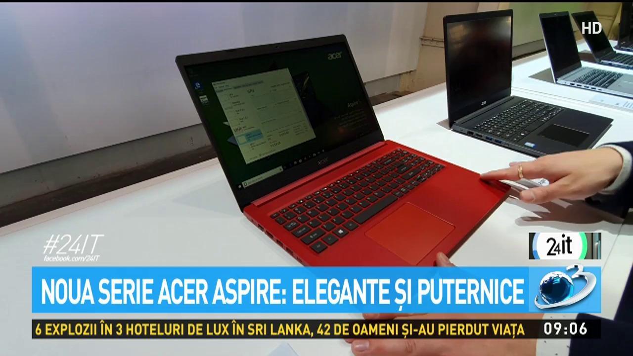 24 IT. Noua serie Acer Aspire- design, eleganță, putere
