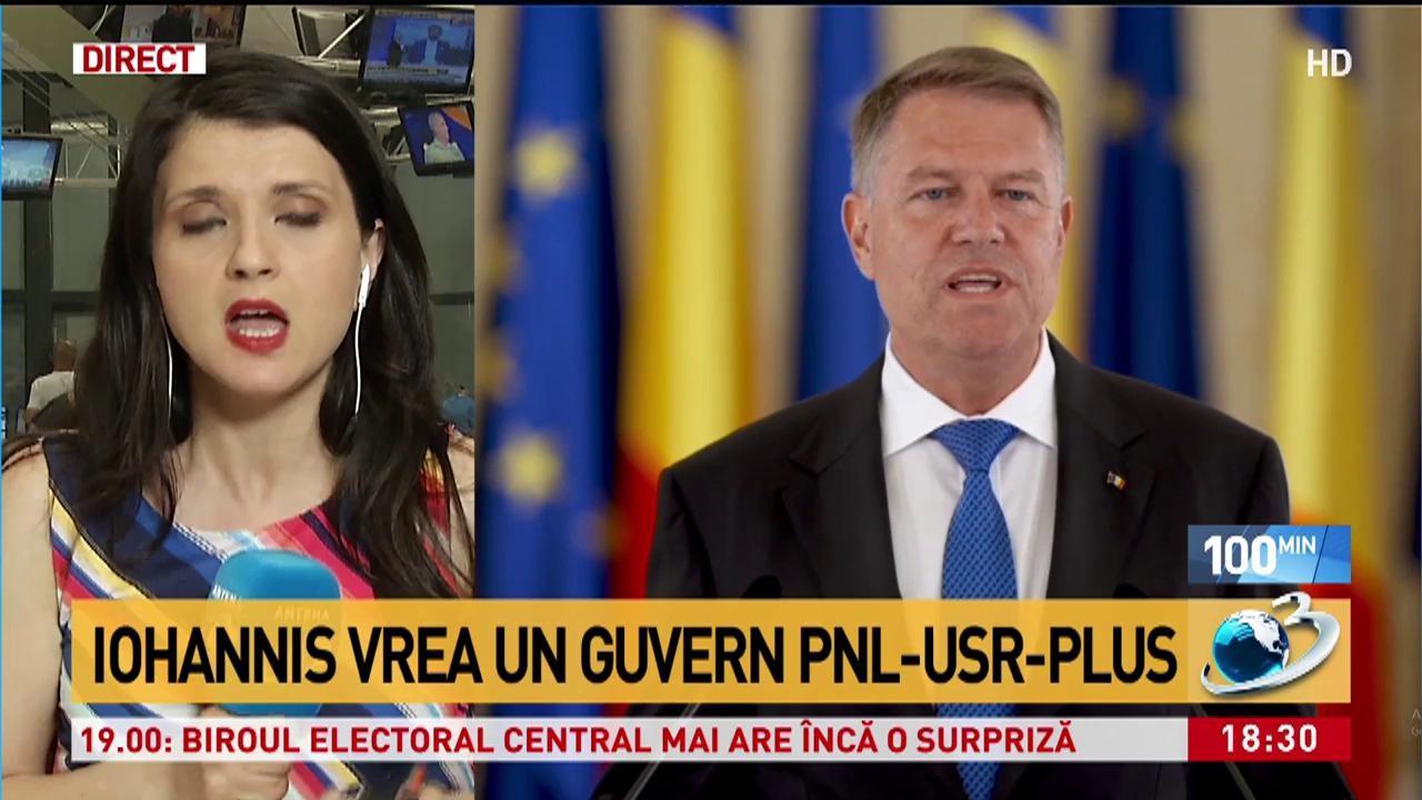 """Planul Președintelui pentru """"Guvernul meu"""" 2. Klaus Iohannis vrea coaliția PNL-USR-PLUS"""