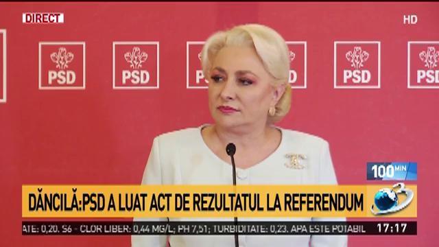 """Viorica Dăncilă: """"Dragnea mi-a spus să nu îmi dau demisia"""""""