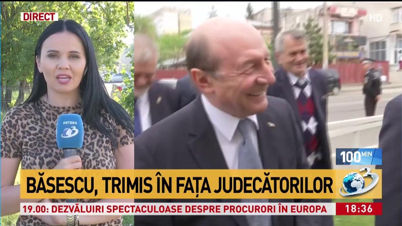 Traian Băsescu trimis în fața judecătorilor