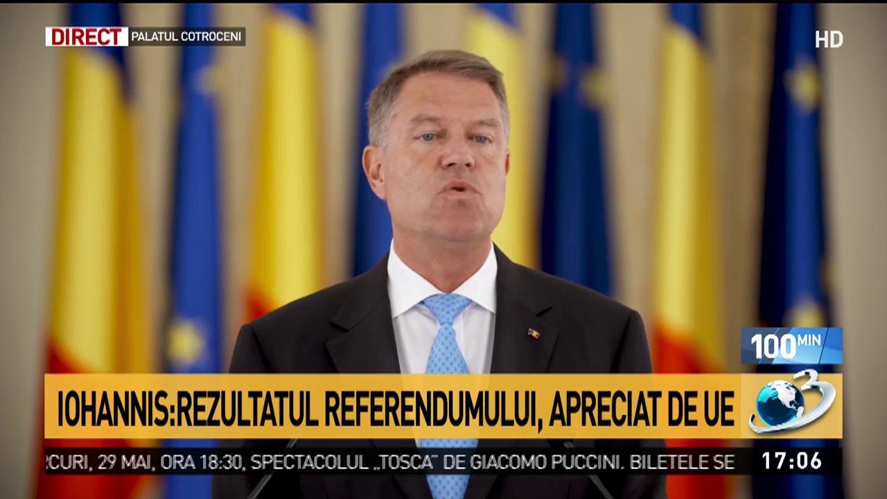 """Klaus Iohannis: """"Solicit demisia imediată a ministrului de Externe"""""""