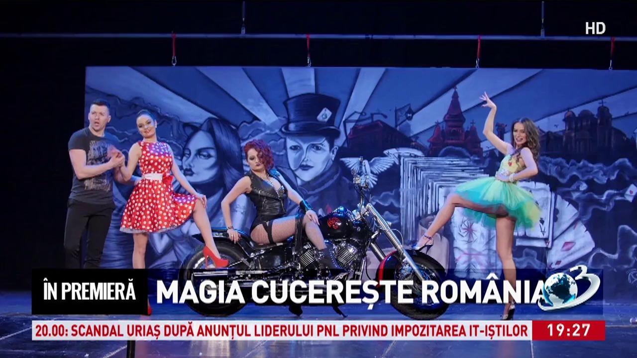 În premieră. Magia cucereşte România