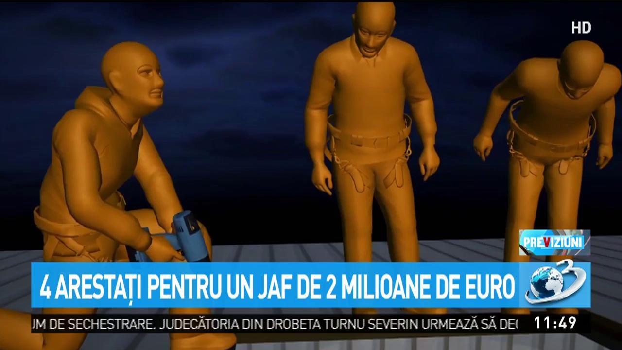 Jaf ca-n filme în Londra. Patru români arestaţi