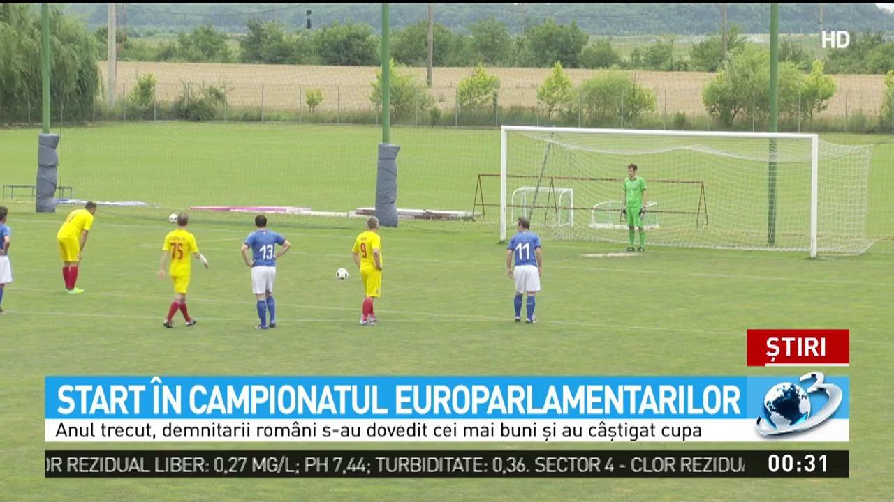 A început campionatul europarlamentarilor
