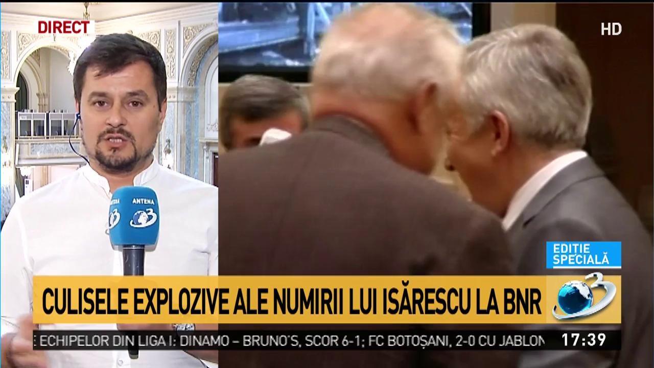 Culisele explozive ale numirii lui Isărescu la BNR