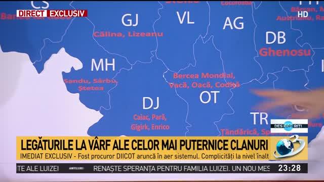 Premieră Jurnalistică La Descoperiți Harta Clanurilor Din Romania