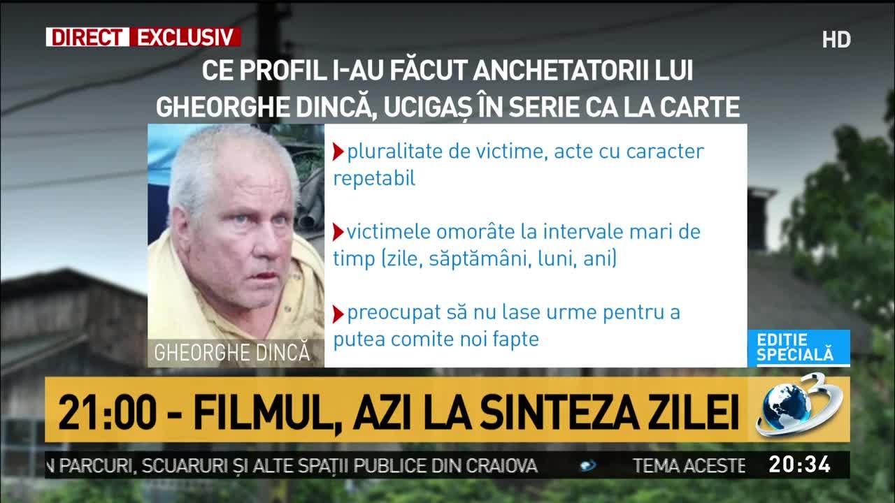 Ce profil i-au făcut anchetatorii lui Gheorghe Dincă. Inculpatul, ucigaș în serie