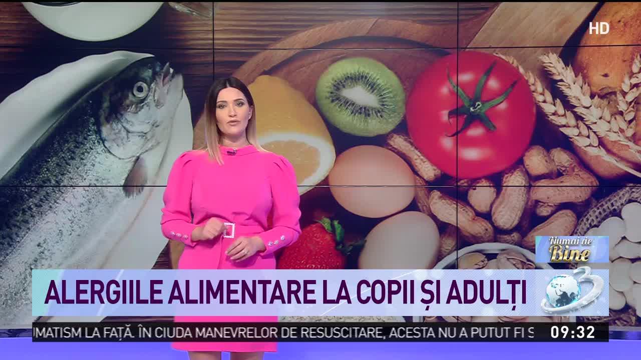 Alergiile alimentare la copii şi adulţi