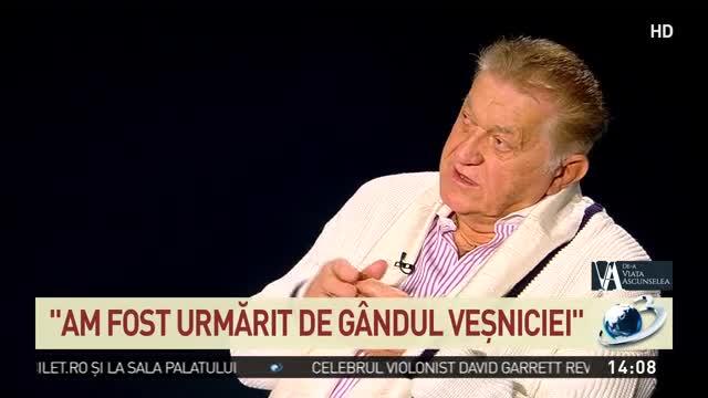 """Actorul Dorel Vișan, mărturii emoționante: """"Viața este un balans între suferință și fericire"""""""