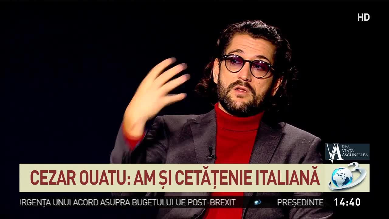 Cezar Ouatu: Îmi doresc un copil