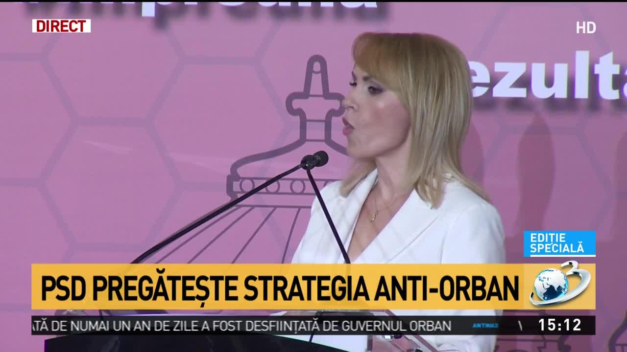 Gabriela Firea, răspuns acid pentru Ludovic Orban: Este cel mai incompetent dintre incompetenți