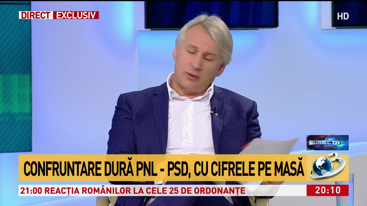 Confruntare dură PNL - PSD