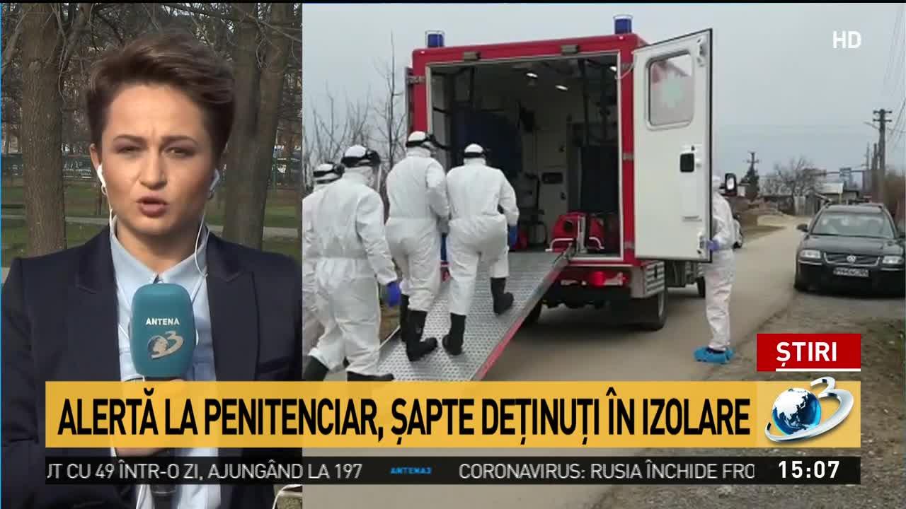 Alertă de coronavirus la Penitenciarul Jilava