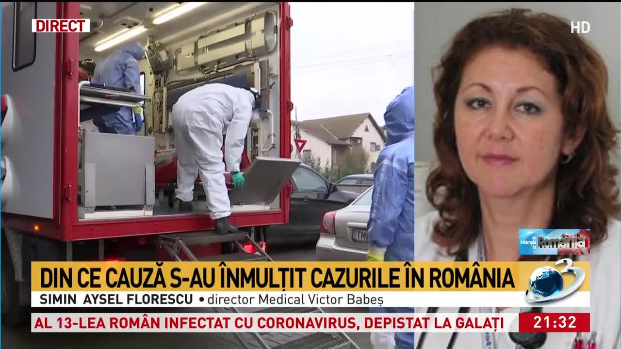 """Director medical """"Victor Babeş"""": Confirmarea celor patru cazuri de coronavirus de azi nu e ceva apocaliptic"""