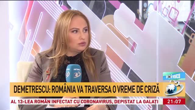 Cristina Demetrescu, astrolog: Mă sperie tensiunile care apar în aprilie